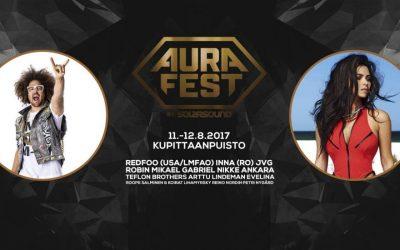 Aura Fest kiinnitti kotimaisia ja ulkomaalaisia tähtiä!