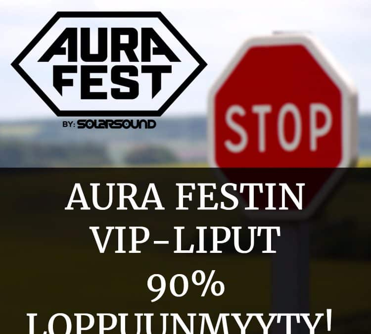 Kesän 2017 VIP-liput 90% loppuunmyyty!