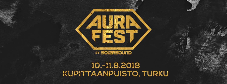 Aura Fest 2018 taas elokuussa Kupittaanpuistossa
