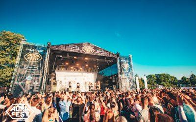 UUSI KÄVIJÄENNÄTYS! Turun Aura Fest alkoi hurjissa tunnelmissa