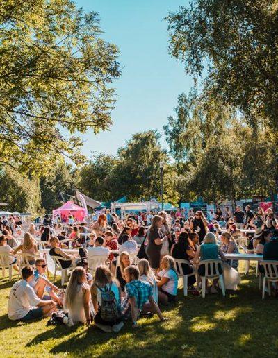 Aura Fest tunnelmaa