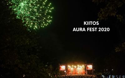 Aura Festissa juhli 7500 kävijää erityisjärjestelyin  – nähdään ensi vuonna 13.-14.8.2021!
